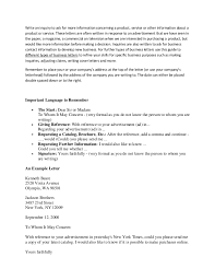 doc 468600 example of inquiry letter for product u2013 letters of