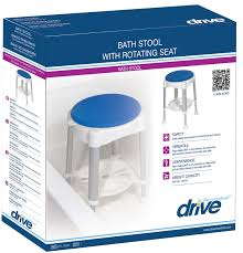 Bath And Shower Seats Shower Stool With Padded Rotating Seat Lambert S Health Care
