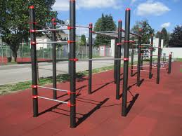 Flag Pole Workout Street Workout Calisthenics Obra Design Spielplatzgeräte