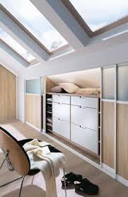 chambre sur mesure dressing sous pente sur mesure avec portes coulissantes