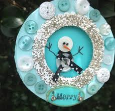in july shadow box button ornaments