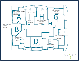 Floor Plans For Condos by Strada 315 Fort Lauderdale Condos For Sale