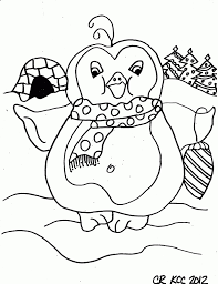 cute winter coloring pages winter coloring pages penguin for kids elegant pizza color page at