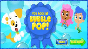 bubble guppies games bubble guppies bubble pop video dailymotion