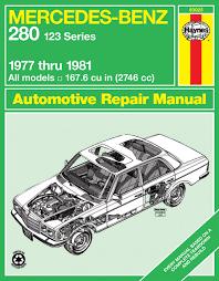 mercedes repair manuals haynes repair manual mercedes 280 w123 1977 1981