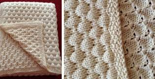 free pattern knit baby blanket deans knitted baby blanket free knitting pattern