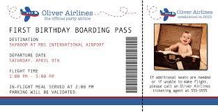 boarding pass birthday invitations alanarasbach com