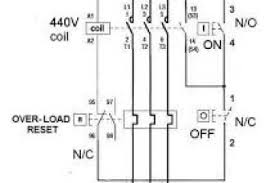 3 phase direct motor starter circuit diagram wiring diagram
