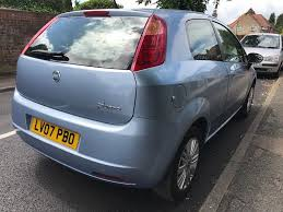 fiat punto 2007 1 4 petrol manual mot april 2018 in harlow