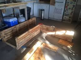 Patio Pallet Furniture by Diy Pallet Sectional For Outdoor Furniture Like The Yogurt