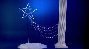 shooting star icicle lights shooting star christmas light set youtube