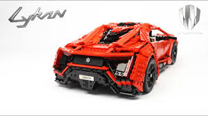 lykan hypersport doors lego technic rc lykan hypersport youtube