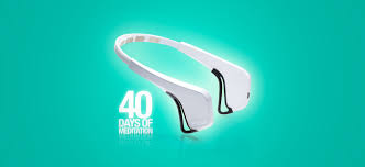 brain sensing headband 40 day journey into meditation with muse the brain sensing headband