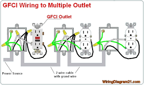 wiring 110v receptacles in series wiring wiring diagrams