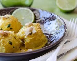 cuisiner la lotte au curry recette curry de lotte au lait de coco citron vert et noix de cajou