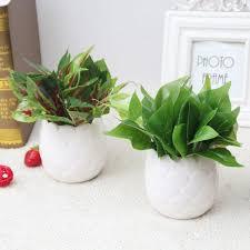 cactus home decor artificial cactus flowers plants in pot home decor garden green
