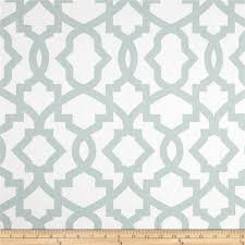 Embroidered Home Decor Fabric Premier Prints Sheffield Snowy Discount Designer Fabric Fabric Com