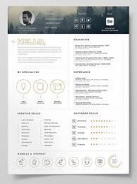 Sample Word Resume by Best 25 Free Cv Template Word Ideas Only On Pinterest Free Cv