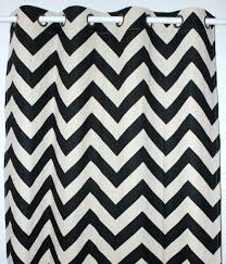 Chevron Style Curtains Decorating Appealing Gray Chevron Curtains With White Cheap