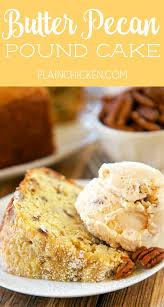 butter pecan pound cake plain chicken