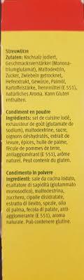 glutamate de sodium cuisine condiment en poudre mirador 270g 3 90g