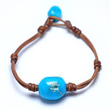 turquoise pearls bracelet images Wendy mignot turquoise single gem bracelet limited edition jpg