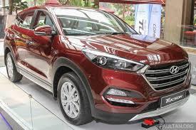 hyundai tucson malaysia 2016 hyundai tucson white showcased in malaysia indian autos