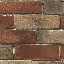 faux brick wallpaper amazon com