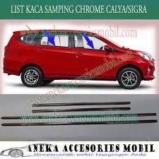 Daihatsu Sigra Trunk Lid Cover Chrome list kaca sing daihatsu sigra window liner daihatsu sigra