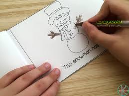 kindergarten worksheets and games free build a snowman sequencing