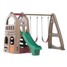 Playground Flooring Lowes shop step2 np playhouse climber and swing extension at lowes com