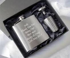 and groom flasks personalised engraved hip flask usher gifts best gifts