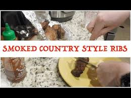 Country Style Ribs On Traeger - smoked country style ribs keto youtube