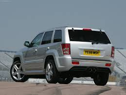 jeep grand cherokee srt 8 uk 2007 picture 9 of 23
