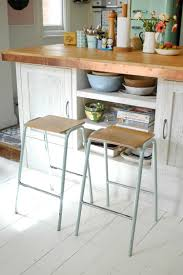 Kitchen Island Made From Reclaimed Wood Kitchen Renovation Tour Vintage Stools And Kitchens