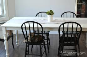 chalk paint farmhouse table white farmhouse table shabby chic farmhouse table with chalk paint