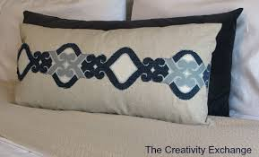 Easy Upholstery Easy Appliques For Pillows Using Upholstery Fabric Or Screen Print