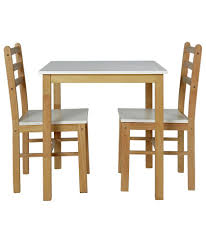 buy lily two tone dining table u0026 2 matching chairs at argos co uk