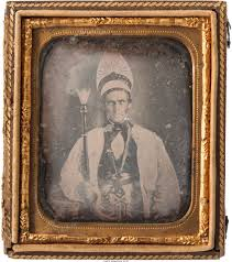 Dign Early Photography Daguerreotype Of Masonic Dign