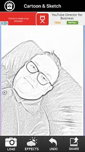 cartoon camera free univision sketch effects in cam photo by sun