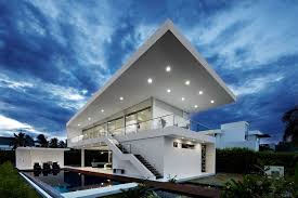 Glass Home Design Decor by White Glass House Design U2013 Modern House