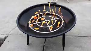 How To Build A Propane Fire Pit Charcoal Wood U0026 Propane Converted Bbq Grill Firepit R2 D2 Youtube