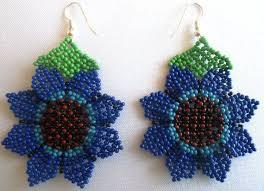 Native American Beaded Earrings Huichol 212 Best Huichol Estrellas 8 Ok Images On Pinterest Necklaces