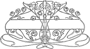 Art Deco Design Free Vintage Image U2013 Art Nouveau Floral Design Oh So Nifty