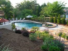 affordable garden design free photo of backyard with pool cheap
