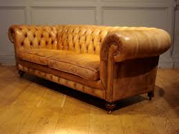 Antique Chesterfield Sofas by Sold Antique Large 2 Seater Leather Chesterfield Antique