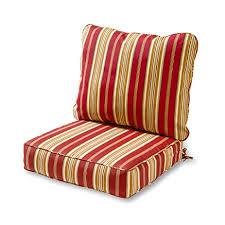amazon com greendale home fashions deep seat cushion set roma
