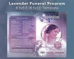 funeral flyer templates sample funeral program template 30