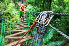 how safe are zipline and aerial adventure rides