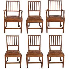 Oak Dining Chairs Set Of Six Cotswold Oak Dining Chairs By Gordon Russell